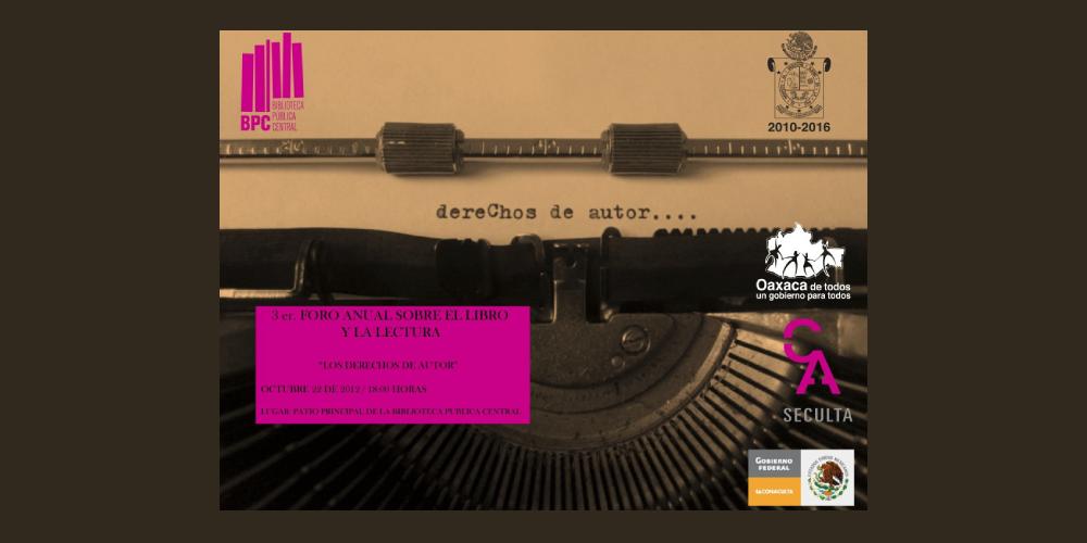 Derechos de autor y Oaxaca