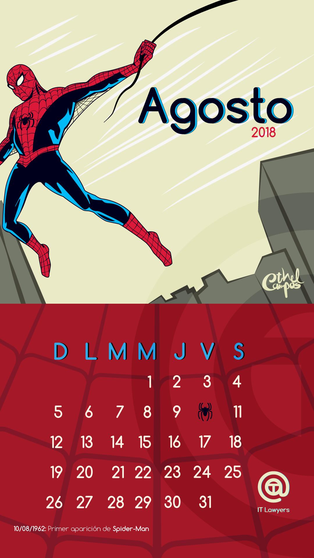 Agosto el mes de Spider-Man
