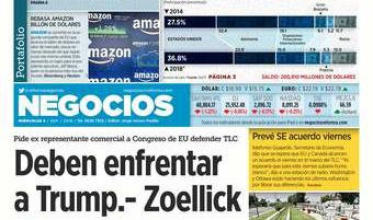 Tiene criptomonedas caída libre (Reforma 05/09/2018)